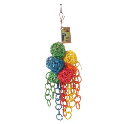 All Living Things® Vibrant Cluster Bird Toy