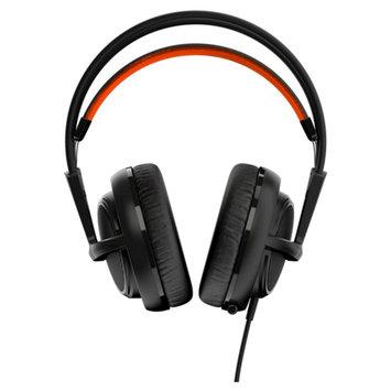 SteelSeries Siberia 200 Headset - Stereo - Black - Mini-phone - Wired - 32 Ohm - 10 Hz - 28 kHz - Over-the-head - Binaural - Circumaural - 5.91 ft Cable
