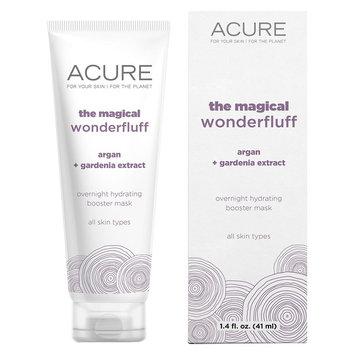 Acure The Magical Wonderfluff Overnight Hydrating Booster Mask - Argan Gardenia - 1.4 oz