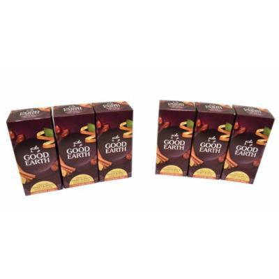 Good Earth Caffeine Free Original Sweet and Spicy Herbal Tea Blend 25 Bags Each Package 6 Pack (Total 150 Bags)