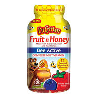 L'il Critters Fruit'n Honey Complete Multivitamin - 120ct