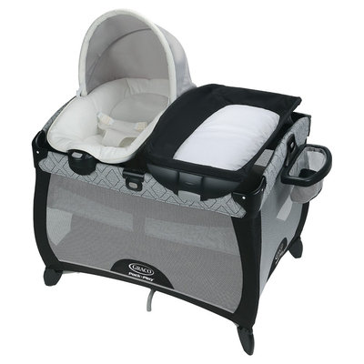Graco Pack 'n Play Playard Quick Connect Portable Napper - Asher, Black