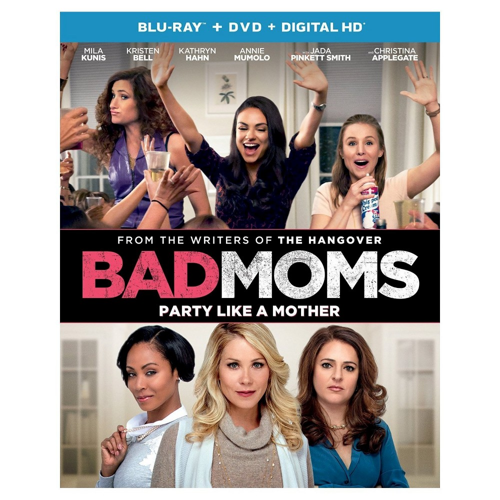Bad Moms (Blu-ray + Dvd + Digital)