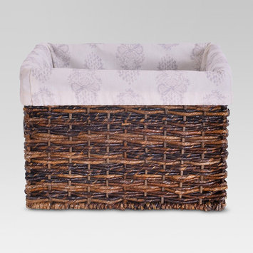 Basket Liner for Small Milk Crate - Paisley - Threshold, Green