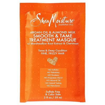 SheaMoisture Argan Oil & Almond Milk Hair Masque Packettes - 2 oz