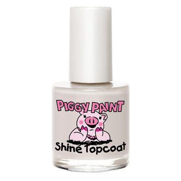 Piggy Paint Nail Top Coat 0.33 oz, Topcoat