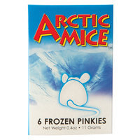Arctic Mice Artic Mice Frozen Pinkie size: 6 Count