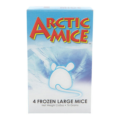 Arctic Mice Large Frozen Mice size: 4 Count