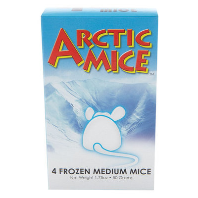 Arctic Mice Frozen Mice size: 4 Count