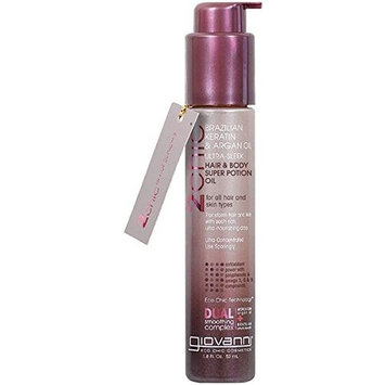 3 Packs of Giovanni 2Chic Ultra-Sleek Hair And Body Super Potion