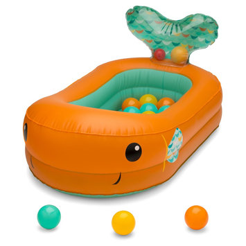 Infantino Go Gaga Bubble Ball Bath Tub-Orange, Orange