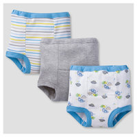 Baby Boys' 3 Pack Print Training Pant Set Dinos - Gerber, Blue