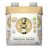 Evolve Real Plant-Powered Protein Shake Ideal Vanilla - 11fl oz