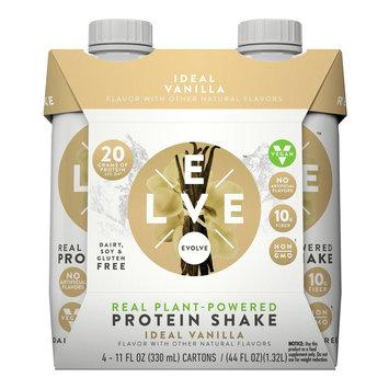 Evolve Real Plant-Powered Protein Shake Ideal Vanilla - 11fl oz