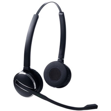 Jabra PRO 9460 Headset - Stereo - Wireless - DECT - 492 ft - 150 Hz - 6.80 kHz - Over-the-head - Binaural - Semi-open - Noise Cancelling Microphone - cd tuy 14401-03