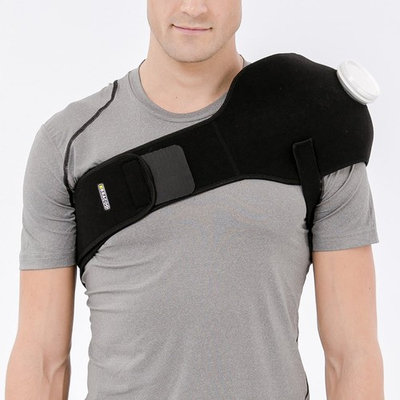 Bracoo Advanced Thermal Therapy Wrap,Hot or Cold Pack for Shoulder,Back,and Abdominal Pain with 6