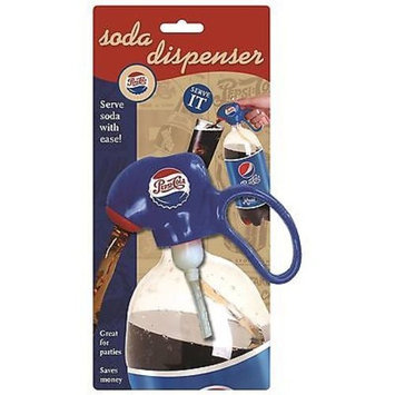 Jokari Pepsi Heritage Soda Dispenser & Fizz Keeper - for 2 liter Pop Bottles