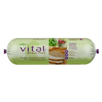 Deli Fresh 518043 Delifr Vitl Dog Turkey-Veg 2 Roll