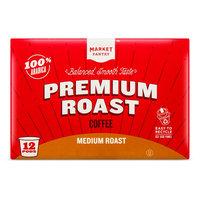 Medium Roast Single Serve Coffee 12ct - Market Pantry