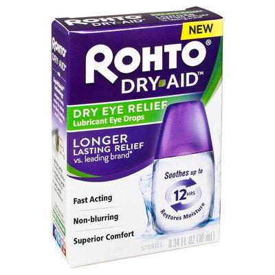Rohto Dry-Aid Dry Eye Relief Eye Drops .34 fl oz