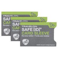Travelon Rfid Credit card Sleeve, Clear