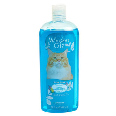 Whisker City® Hypoallergenic Tearless Cat Shampoo