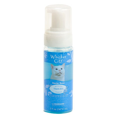 Whisker City® Tearless Non-Rinse Waterless Cat Shampoo