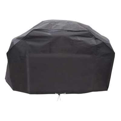 Char-Broil 7677621 Grill Cover for 5+ Burner, Black Vinyl, 63