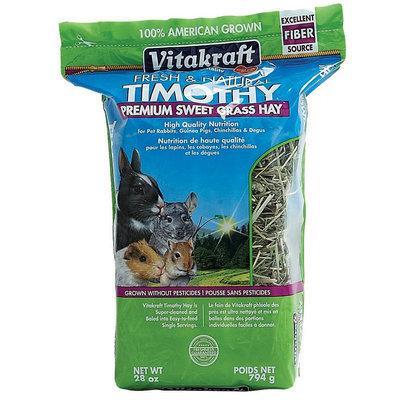 VitaKraft Timothy Premium Sweet Grass Hay: 28 oz