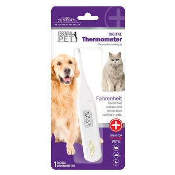 21st Century Digital Pet Thermometer size: 1 Count, White