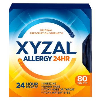 Xyzal Allergy 24hr Tablets 80ct