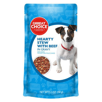 Grreat Choice® Delectable Entrees Adult Dog Food size: 5.3 Oz