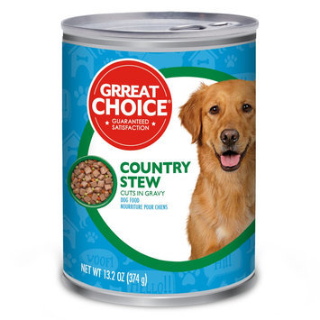 Grreat Choice® Country Stew Cuts Adult Dog Food size: 13.2 Oz