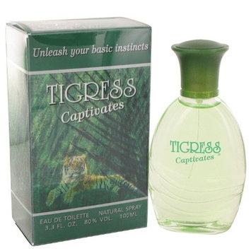 Fragrances of France Tigress Captivates Eau De Toilette Spray for Women, 3.3 Ounce