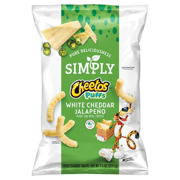 CHEETOS® Simply Puffs White Cheddar Jalapeno