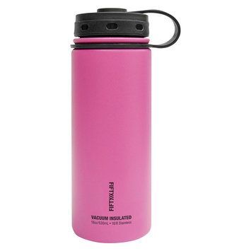 Fifty Fifty Fifty/Fifty 18 oz Bottle With Flip Top Lid - Coral (Pink)