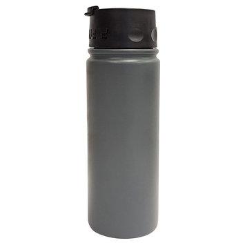 Fifty Fifty Fifty/Fifty 18 oz Bottle With Flip Top Lid - Slate (Grey)