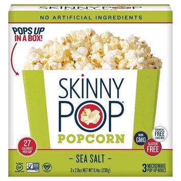 Skinnypop Microwave Popcorn Bowls Skinny Pop Sea Salt 3 pack
