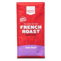 Dark French Roast Ground Coffee 12oz - Market Pantry