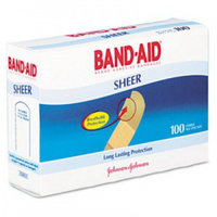 Band-Aid Flexible Fabric Strip Adhesive Bandag 3/4