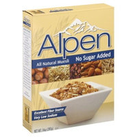 Alpen Cereal, No Sugar Added, 14-Ounce Box (Pack of 2)