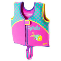 Speedo Kids Swim Vest - Pink (Medium)
