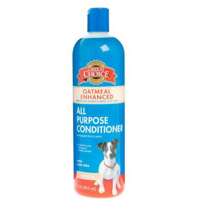 Grreat Choice® Oatmeal All Puprse Dog Conditioner 17 Fl Oz