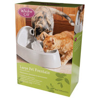 Whisker City® Pet Fountain size: 150 Fl Oz, Brown