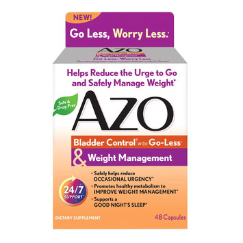 Azo Bladder Control Plus Weight Management Capsules - 48ct