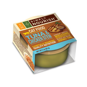 Simply Nourish Tuna and Chicken Stew Canned Cat Food