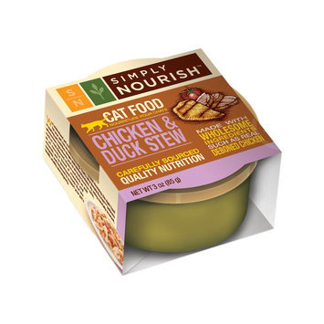 Simply Nourish Chicken and Duck Stew Canned Cat Food