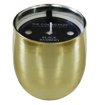 Jar Candle Gold - Black Bamboo - THE Collection
