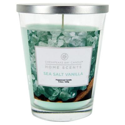 Jar Candle - Sea Salt Vanilla (11.5oz) - Home Scents, Yellow