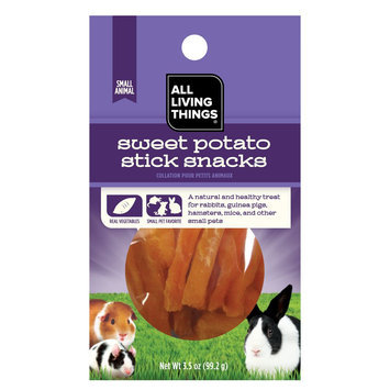 All Living Things® Sweet Potato Small Animal Snack size: 3.5 Oz